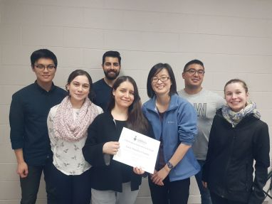 Graduate Student Research Award Presentation